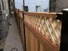 Red Cedar Wood Fence w/ Lattice1