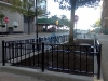 Scroll Design Garden Fence